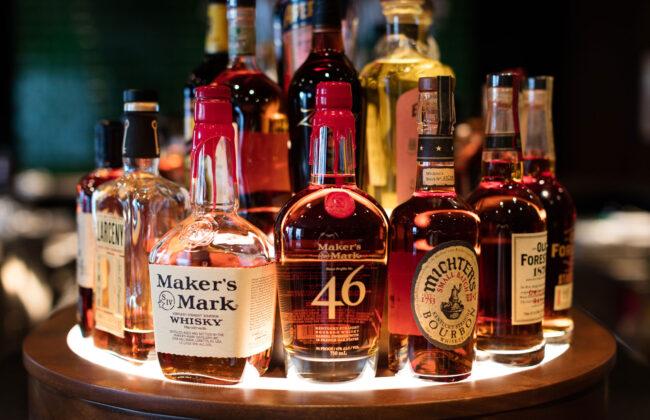 Liquor at the Yellow Pony